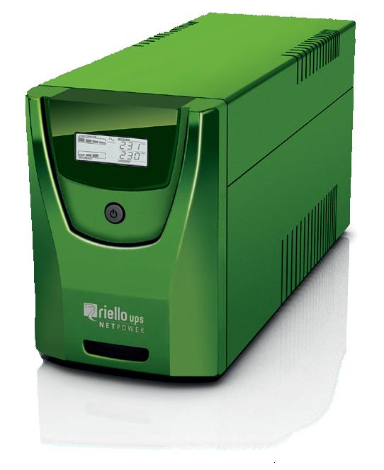 Riello NetPower GAMING sistema de alimentación ininterrumpida (UPS) Línea interactiva 2000 VA 1200 W