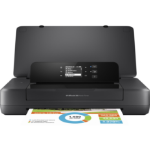 HP Officejet 200 Mobile Colour 4800 x 1200DPI A4 Wi-Fi Black inkjet printer