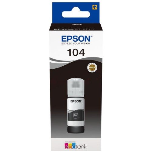 Epson C13T00P140 (104) Ink cartridge black, 4.5K pages, 70ml
