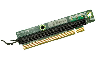 Riser Card 1u Rsc-r1u-e16r - Sxb2 Slot (x7dxu) To 1x Pci-e (x16) Slot