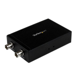 StarTech.com HDMI to SDI Converter – HDMI to 3G SDI Adapter with Dual SDI Output