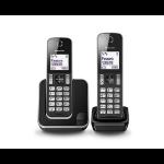 Panasonic KX-TGD312E DECT telephone Caller ID Black