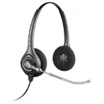 Plantronics HW261H Binaural Head-band Black headset