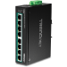 Trendnet TI-PE80 switch Fast Ethernet (10/100) Negro Energía sobre Ethernet (PoE)