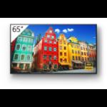 "Sony FW-65BZ30J signage display Digital signage flat panel 65"" IPS 4K Ultra HD Black Built-in processor Android 10"