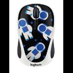 Logitech M238 Spaceman Wi-Fi Optical 1000DPI Ambidextrous Multicolour mice
