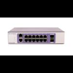Extreme networks 210-12P-GE2 Managed L2 Gigabit Ethernet (10/100/1000) Bronze,Purple Power over Ethernet (PoE)