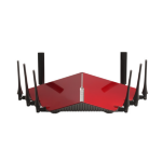D-Link DIR-895L/R Dual-band (2.4 GHz / 5 GHz) Gigabit Ethernet Black,Red wireless router