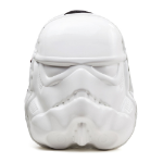 Star Wars Stormtrooper Mask Backpack, One Size, White/Black (BP131015STW)