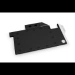 EK Water Blocks 3831109832615 computer cooling component Graphics card Backplate Black, Metallic