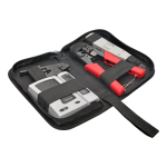 Tripp Lite 4-Piece Network Installer Tool Kit with Carrying Case