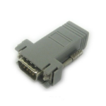 Lantronix 200.2071 RJ-45 DB9M Grey cable interface/gender adapter
