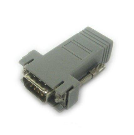 Lantronix 200.2071 adaptador de cable RJ-45 DB9M Gris