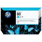 HP C4872A (80) Ink cartridge cyan, 175ml