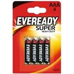 Eveready SUPER AAA PK4 RO3B4UP