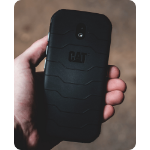 "CAT S42 H+ 14 cm (5.5"") Hybride Dual SIM Android 10.0 4G Micro-USB 3 GB 32 GB 4200 mAh Zwart"
