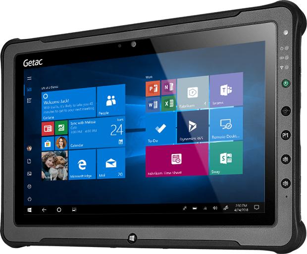 """Getac F110 G5 256 GB 29.5 cm (11.6"""") 8th gen Intel® Core™ i5 8 GB Wi-Fi 5 (802.11ac) Windows 10 Pro Black"""