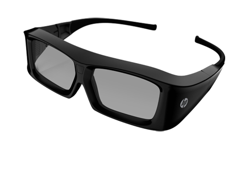 HP 3D Active Shutter Glasses (XC554AA)