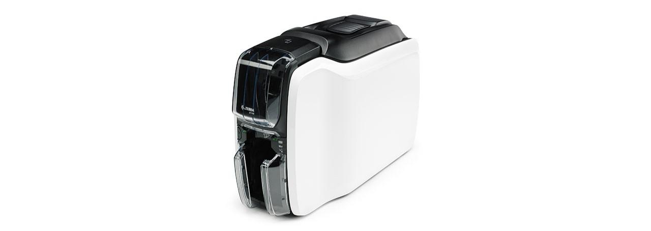 Zebra ZC100 impresora de tarjeta plástica Pintar por sublimación/Transferencia térmica Color 300 x 300 DPI