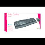 Microsoft Sculpt Comfort Desktop RF Draadloos QWERTY Zwart