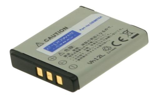 2-Power Digital Camera Battery 3.7v 700mAh