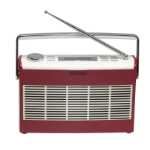 Denver Electronics DAB-37RED Portable Digital Red, White radio