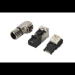 ASSMANN Electronic A-MFP6A 8-8 TG-AN kabel-connector RJ-45 Zwart, Zilver