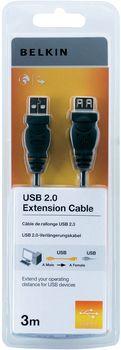 Belkin F3U153CP3M USB cable 3 m 2.0 USB A Black