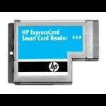 HP ExpressCard smart card reader Metallic