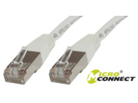 Microconnect SSTP CAT6 1M 1m White networking cable
