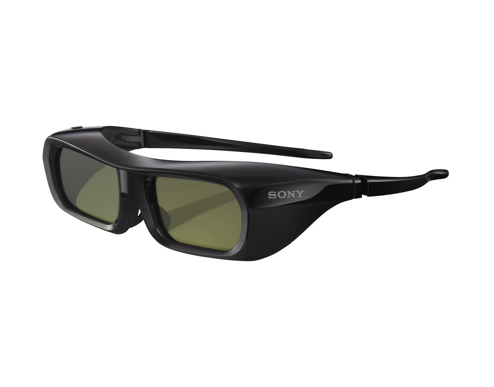 Sony TDG-PJ1 Black stereoscopic 3D glasses