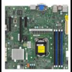 Supermicro MBD-X12SCZ-QF server/workstation motherboard LGA 1200 (Socket H5) micro ATX