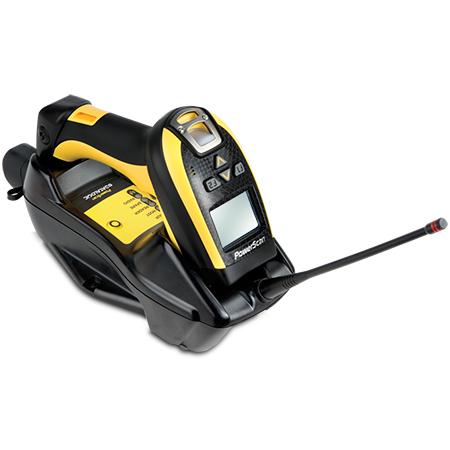 Datalogic PowerScan PM9100 Lector de códigos de barras portátil 1D LED Negro, Amarillo