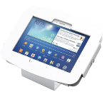 Maclocks Samsung Galaxy Tab Kiosk Enclosure - White - (101W400GEW) - Tablet Not Included