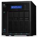 Western Digital My Cloud Pro Series PR4100 Ethernet LAN Desktop Black NAS