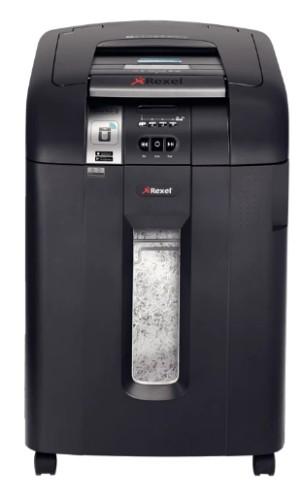 Rexel Auto+ SmarTech 600X paper shredder Cross shredding 23 cm 60 dB Black
