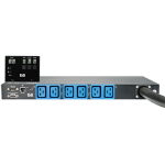 Hewlett Packard Enterprise 32A Intl Core Only Intelligent Modular PDU 6AC outlet(s) Black, Blue power distribution unit (PDU)