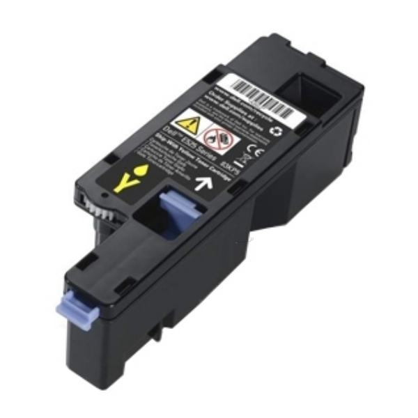 DELL 593-BBLV (MWR7R) Toner yellow, 1.4K pages