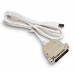 Intermec USB to Parallel Adapter cable de impresora 1,8 m Blanco