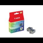 Canon Cartridge BCI-16 3-Color cartucho de tinta Original Multipack