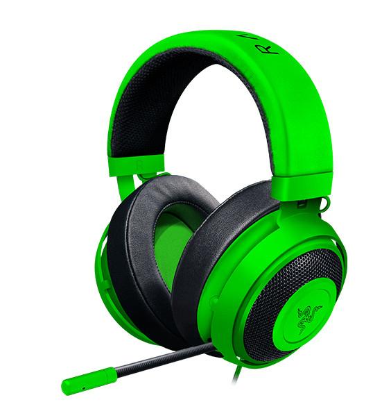 Razer Kraken Headset Head-band Green