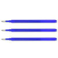 Pilot Refill for Frixion Point 0.5mm Blue PK3