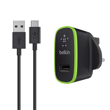 Mini Charger Sector 2.1a USB A To USB-c (f7u001uk06blk)