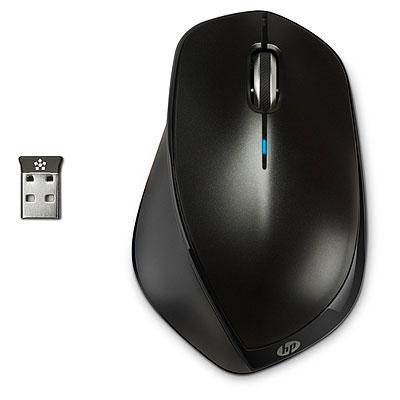 HP X4500 RF Wireless Laser Ambidextrous Black mice
