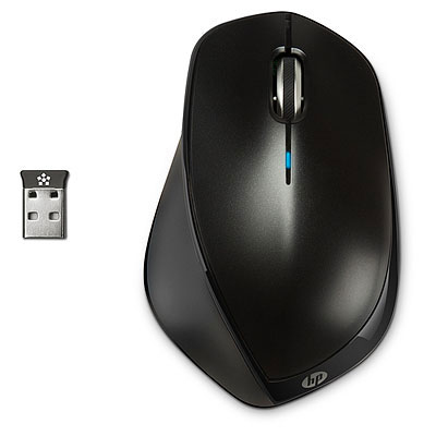 HP X4500 mouse RF Wireless Laser Ambidextrous