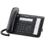 Panasonic KX-DT543 IP phone Black Wired handset LCD