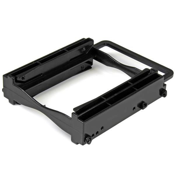 """StarTech.com Dual 2.5"""" SSD/HDD Mounting Bracket for 3.5"""" Drive Bay - Tool-Less Installation"""