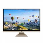 "ASUS V272UA-DS501T 27"" 1920 x 1080 pixels Touchscreen 8th gen Intel® Core™ i5 8 GB DDR4-SDRAM 1000 GB Wi-Fi 5 (802.11ac) Black,Gold All-in-One PC Windows 10"