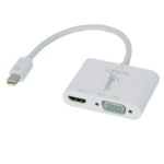 Lindy 41070 cable interface/gender adapter Mini DisplayPort VGA, HDMI White