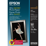 Epson Ultra Glossy - 13x18cm - 50 Sheets photo paper